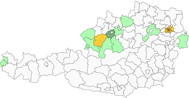 Absolute Verbreitungsskarte des Familiennamens Hartenthaler (lima-city.at)