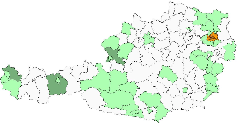 Absolute Verteilungskarten Nachnamen Möller