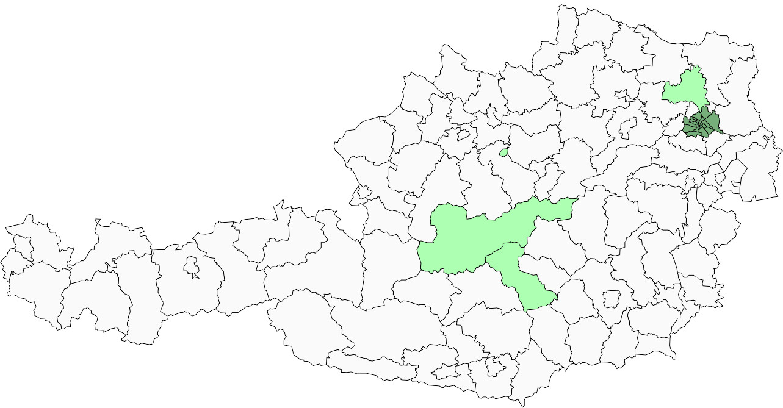 Absolute Verteilungskarten Nachnamen Winckler