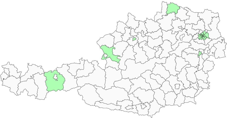 Absolute Verteilungskarten Nachnamen Wolfer
